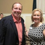 Fred Michel with Jennifer Charlton, Executive Director, at the Gettysburg Evening of Healing & Hope.