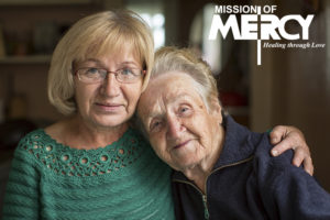 Dawn and her mother, Stella (former patient). Mission of Mercy Arizona.