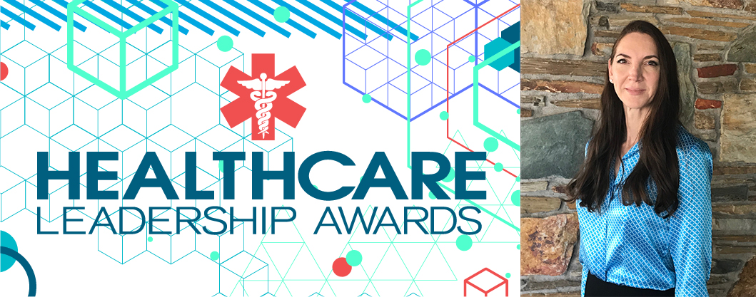 Dr. Barlow, Healthcare Leadership Awards