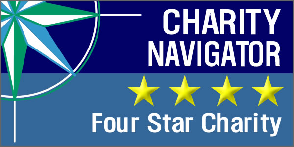 4-Star Charity Rating Earned!