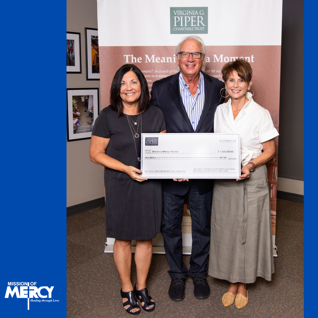 Mission of Mercy Receives $1M Surprise Grant