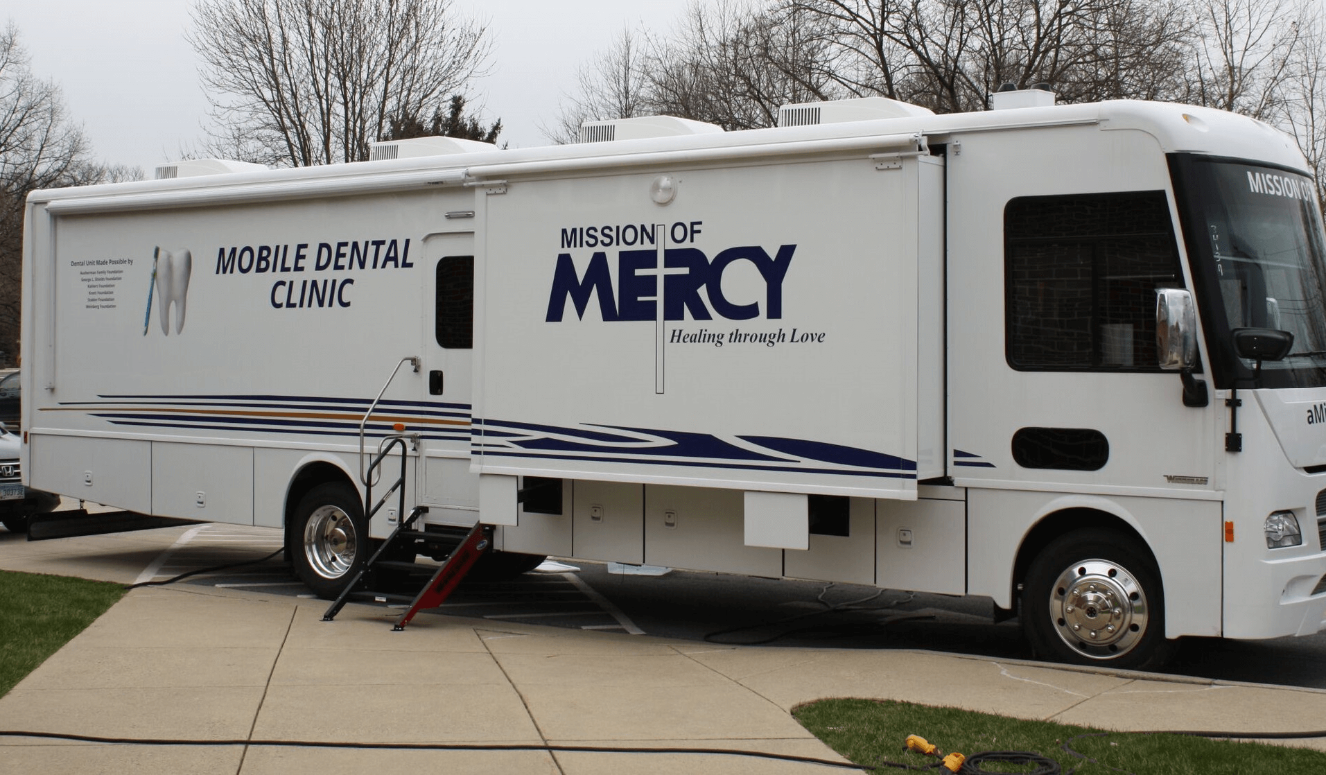 Mission of Mercy expands dental program with new state-of-the art- mobile Dental Clinic