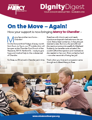 Summer 2018 Newsletter, Mission of Mercy